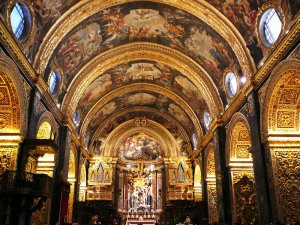 Inside St Johns Co-Cathedral - A hidden jewel